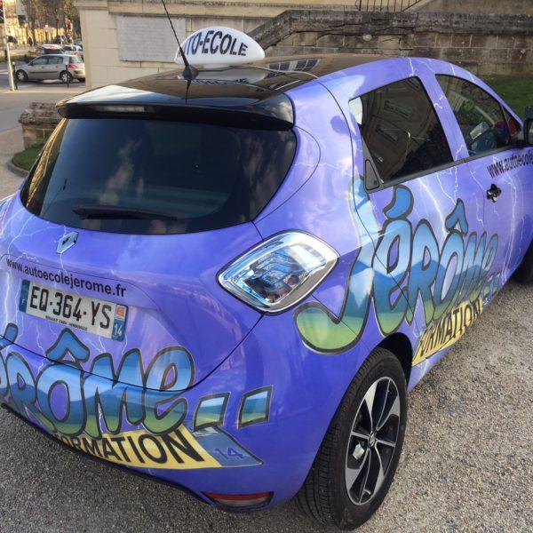 auto-école voiture électrique caen, bretteville sur odon